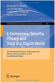 5th International Conference, E-Democracy 2013, Athens, Greece, December 5-6, 2013, Revised Selected Papers
